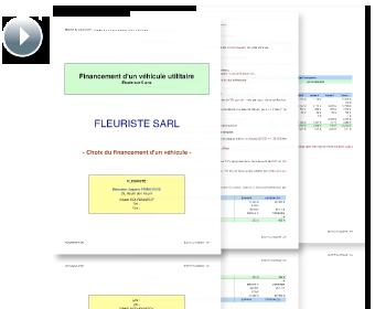 Exemple de présentation classique simulation auto