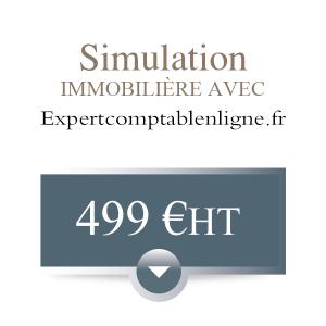 Simulation immobilière avec hypothèses